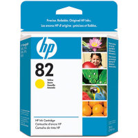 Hewlett Packard HP CH568A (HP 82 Yellow) InkJet Cartridge