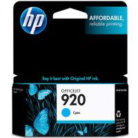 Hewlett Packard HP CH634AN (HP 920 Cyan) InkJet Cartridge