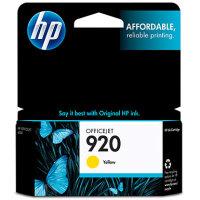 Hewlett Packard HP CH636AN (HP 920 Yellow) InkJet Cartridge