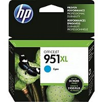 Hewlett Packard HP CN046AN (HP 951XL Cyan) InkJet Cartridge