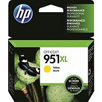 Hewlett Packard HP CN048AN (HP 951XL Yellow) InkJet Cartridge
