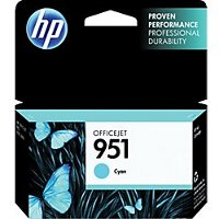 Hewlett Packard HP CN050AN (HP 951 Cyan) InkJet Cartridge