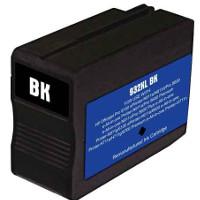 Hewlett Packard HP CN053AN (HP 932XL Black) Remanufactured InkJet Cartridge