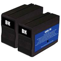 Hewlett Packard HP CN053AN (HP 932XL Black) Remanufactured InkJet Cartridges (2/Pack)