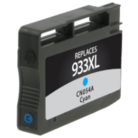 Hewlett Packard HP CN054AN / HP 933XL Cyan Replacement InkJet Cartridge