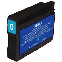 Hewlett Packard HP CN054AN (HP 933XL Cyan) Remanufactured InkJet Cartridge