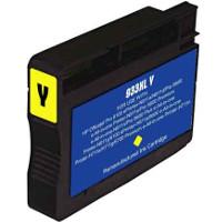 Hewlett Packard HP CN056AN (HP 933XL Yellow) Remanufactured InkJet Cartridge