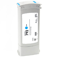 Hewlett Packard HP CN706A / HP 792 Cyan Remanufactured InkJet Cartridge