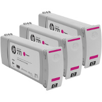 Hewlett Packard HP CR252A (HP 771 Magenta) InkJet Cartridges (3/Pack)
