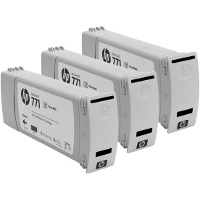 Hewlett Packard HP CR256A (HP 771 Photo Black) InkJet Cartridges (3/Pack)