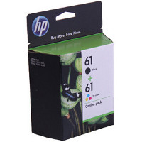 Hewlett Packard HP CR259FN (HP 61) InkJet Cartridge Combo Pack