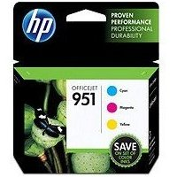 Hewlett Packard HP CR314FN (HP 951) InkJet Cartridge Value Pack