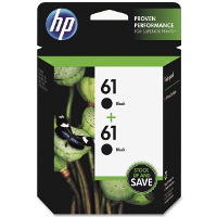 Hewlett Pack CZ073FN (HP 61 Twin Pack) InkJet Cartridges