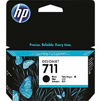 Hewlett Packard HP CZ129A (HP 711 black) InkJet Cartridge