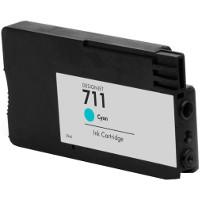 HP 711 Cyan Genérico / Reformado Cartucho de tinta
