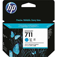 Hewlett Packard HP CZ130A (HP 711 cyan) InkJet Cartridge