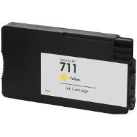 Hewlett Packard HP CZ132A (HP 711 Yellow) Remanufactured InkJet Cartridge