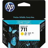 HP 711 Yellow OEM originales Cartucho de tinta