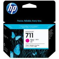 Hewlett Packard HP CZ135A (HP 711 magenta) InkJet Cartridges (3/Pack)