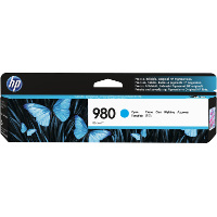 Hewlett Packard HP D8J07A (HP 980 Cyan) InkJet Cartridge