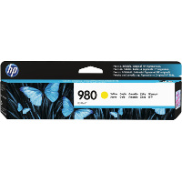 Hewlett Packard HP D8J09A (HP 980 Yellow) InkJet Cartridge