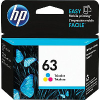 Hewlett Packard HP F6U61AN / HP 63 Tri-Color Inkjet Cartridge