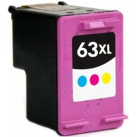 Remanufactured HP HP 63XL Tri-Color (F6U63AN) Multicolor Inkjet Cartridge (Made in North America; TAA Compliant)