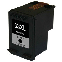 Hewlett Packard HP F6U64AN / HP 63XL Black Remanufactured Inkjet Cartridge