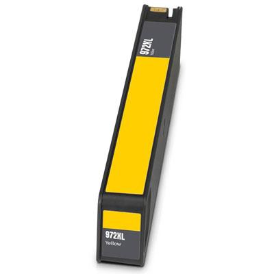 Remanufactured HP HP 972XLY (HP 972XL Yellow) Yellow Inkjet Cartridge