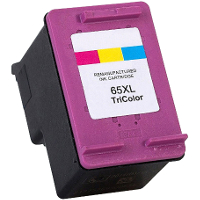 Hewlett Packard HP N9K03AN / HP 65XL Color Remanufactured Inkjet Cartridge