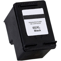 Hewlett Packard HP N9K04AN / HP 65XL Black Remanufactured Inkjet Cartridge