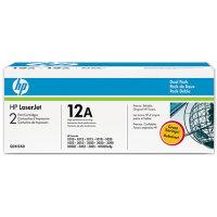 Hewlett Packard HP Q2612AD (HP 12A) Laser Toner Cartridge Dual Pack
