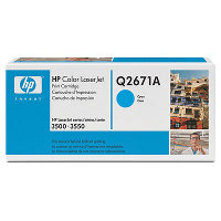 HP Q2671A Cyan Laser Toner Cartridge