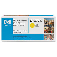 HP Q2672A Yellow Laser Toner Cartridge
