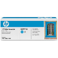 Hewlett Packard HP Q3971A Cyan Smart Print Laser Toner Cartridge