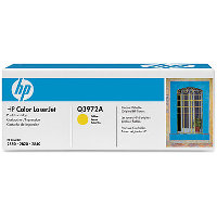 Hewlett Packard HP Q3972A Yellow Smart Print Laser Toner Cartridge