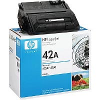 Hewlett Packard HP Q5942A (HP 42A) Laser Toner Cartridge