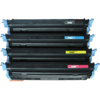 Hewlett Packard HP Q6000A / Q6001A / Q6002A / Q6003A Compatible Laser Toner Cartridge MultiPack