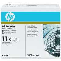 Hewlett Packard HP Q6511XD (HP 11X) Laser Toner Cartridges