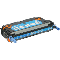 Compatible HP Q7581A Cyan Laser Toner Cartridge (Made in North America; TAA Compliant)