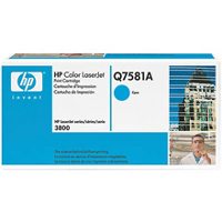 Hewlett Packard HP Q7581A Laser Printer Cartridge