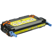 Compatible HP Q7582A Yellow Laser Toner Cartridge (Made in North America; TAA Compliant)
