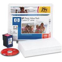 HP 57 Photo Value Pack OEM originales Cartucho de tinta