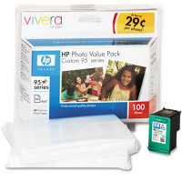 Hewlett Packard HP Q7932AN (HP 95 Photo Value Pack) InkJet Cartridge Value Pack