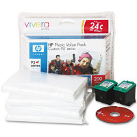 Hewlett Packard HP Q7938AN (HP 95 Photo Value Pack) InkJet Cartridge Value Pack