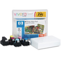 Hewlett Packard HP Q7964AN (HP 02 Photo Value Pack) InkJet Cartridge Value Pack