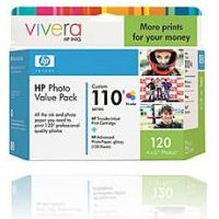Hewlett Packard HP Q8700AN (HP 110 Photo Value Pack) InkJet Cartridge Value Pack