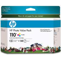 Hewlett Packard HP Q8700BN (HP 110 Photo Value Pack) InkJet Cartridge Value Pack