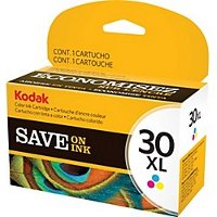 Kodak 1341080 (Kodak #30XL Color) InkJet Cartridge