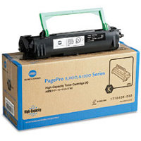 Konica Minolta 1710405-002 Black Laser Toner Cartridge - High Capacity